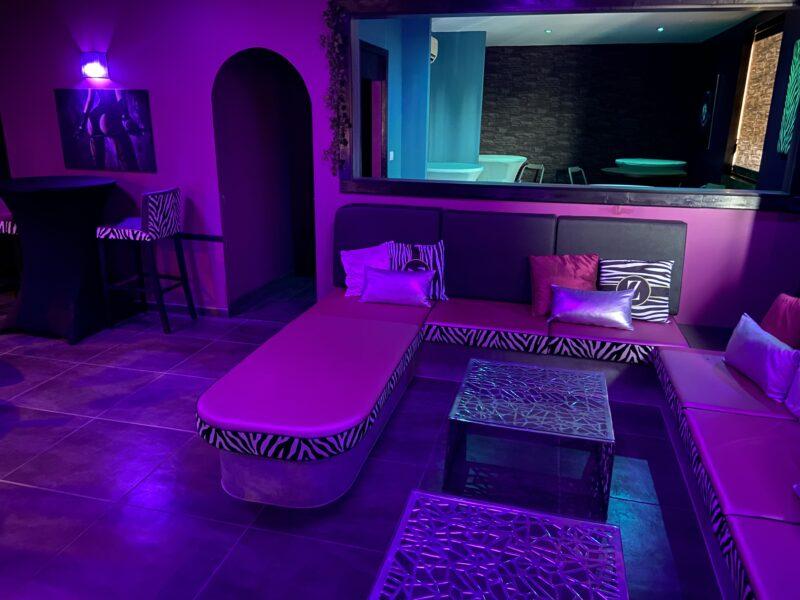 Espace Bar du Club La Villa Rose