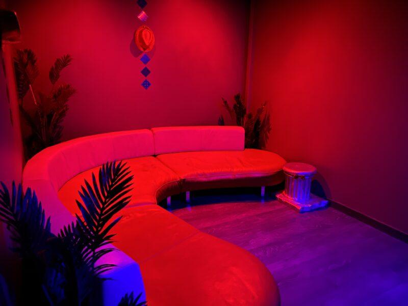 Espace VIP de La Villa Rose